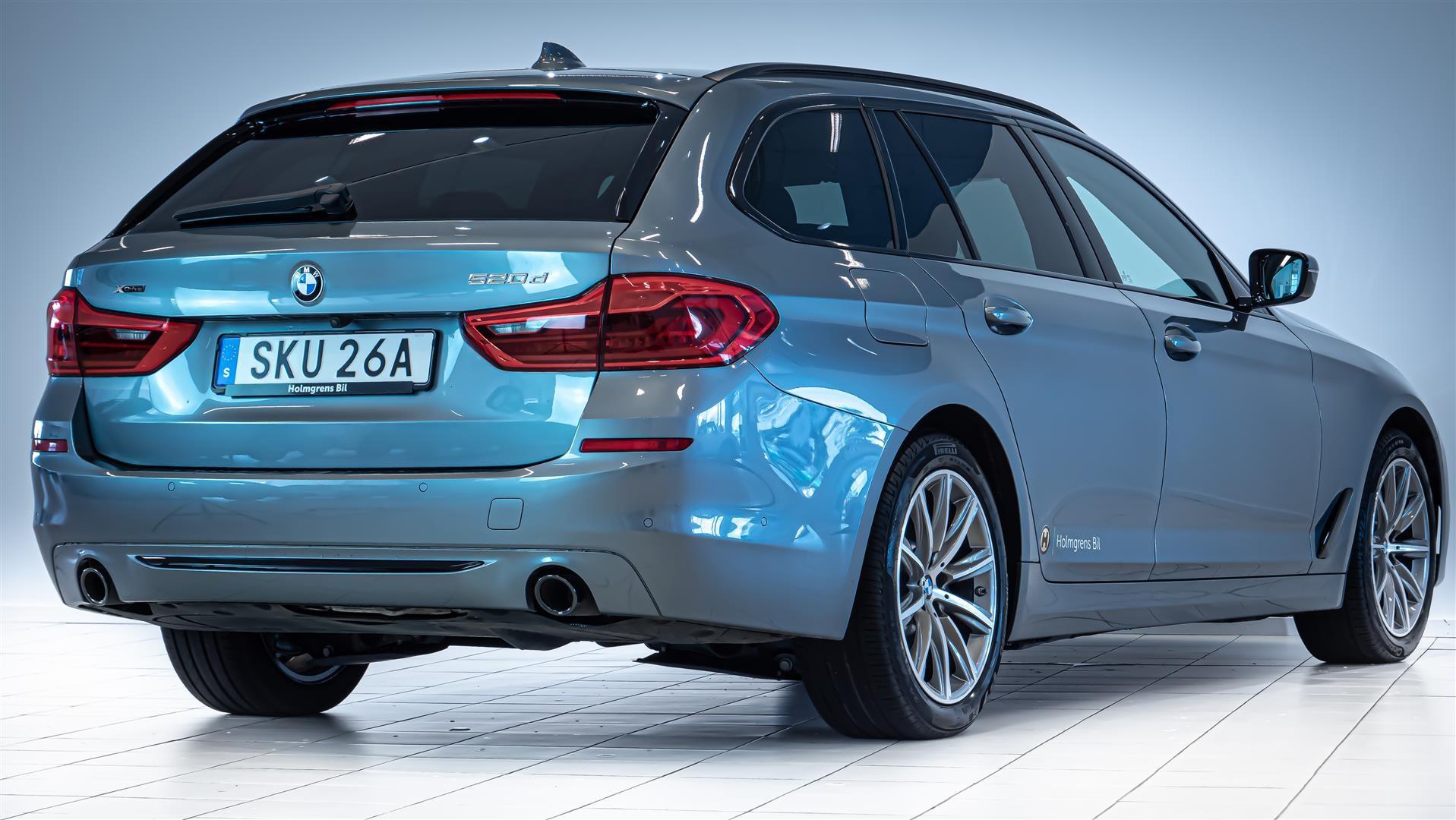 BMW 520d xDrive Touring Navi Värmare Driving Assistant Plus Drag_9