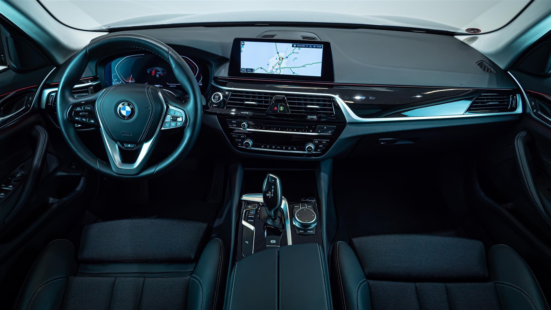 BMW 520d xDrive Touring Navi Värmare Driving Assistant Plus Drag_10